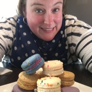 beth and macarons